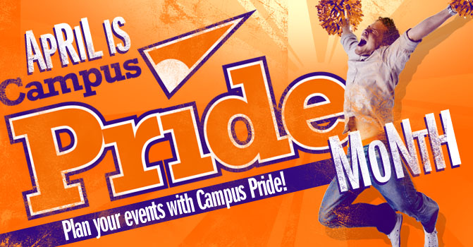 "Campus Pride kicks off ""Campus Pride Month"" this April with several national events and Google+ Hangouts"