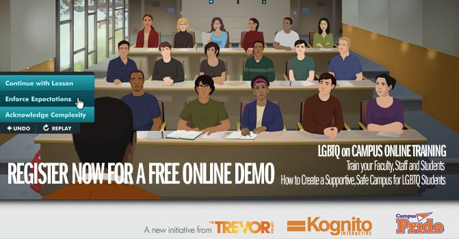 LGBTQ on Campus Online Trainings