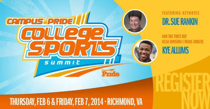 Campus Pride College Sports Summit