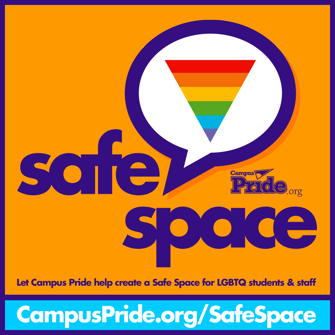 Creating Safe Space For Students After >> Campus Pride Announces Safe Space National Training Initiative For