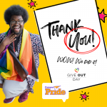 THANK YOU and Campus Pride Give OUT Day 2021 fundraiser results | Campus Pride