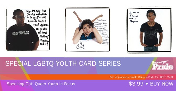 Buy Now -- 'Speaking Out' Card Series to Support LGBTQ Youth