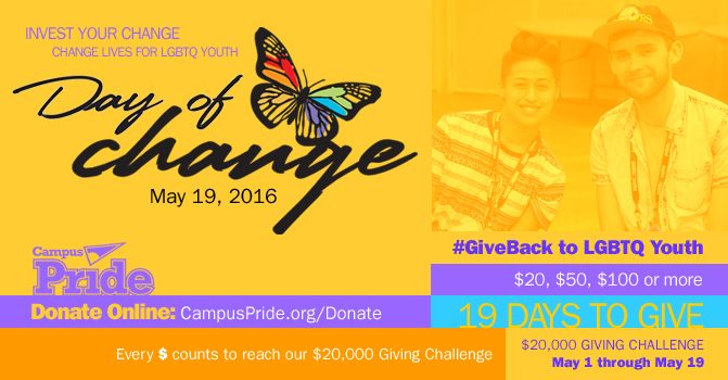 Give Today: Your CHANGE can Create Change