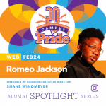 Alumni Spotlight Series | Romeo Jackson