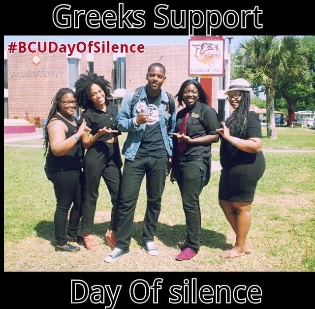BCU Day of Silence