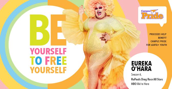 Campus Pride College Tour with RuPaul's Drag Race Eureka O'Hara