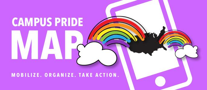 Campus Pride Map   Camp Pride