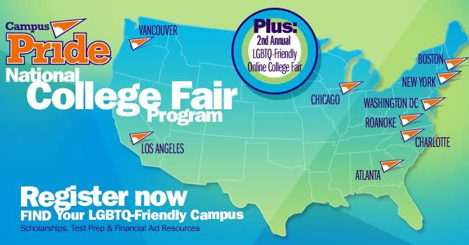 Sign-up Now: 100+ Campuses to Attend LGBTQ-Friendly College Fairs