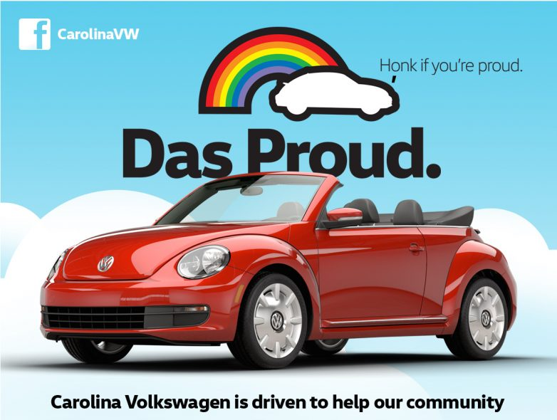 Support Lgbtq Youth With Carolina Volkswagen Low Country Volkwagen