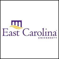 East Carolina University Logo SQUARE