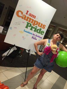Allison Marie Turner Camp Pride I am Campus Pride