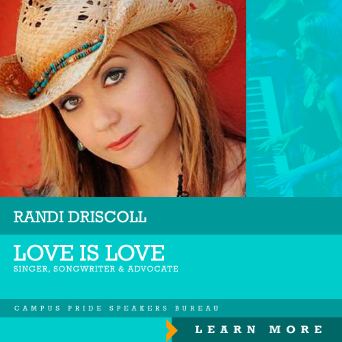 Randi Driscoll, speaker