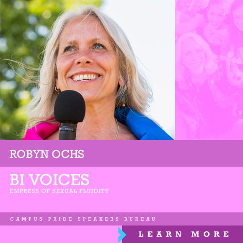 Robyn Ochs, speaker