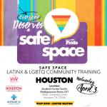 Safe Space Web Slide Houston