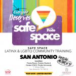 Safe Space Web Slide San Antonio