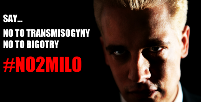 Take Action & Sign Petition #NO2MILO