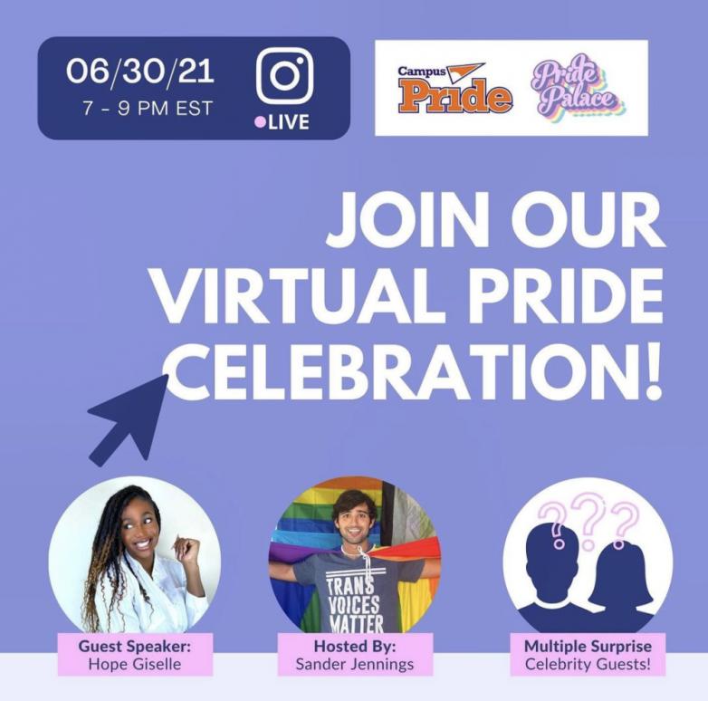 Virtual Pride Celebration   Campus Pride