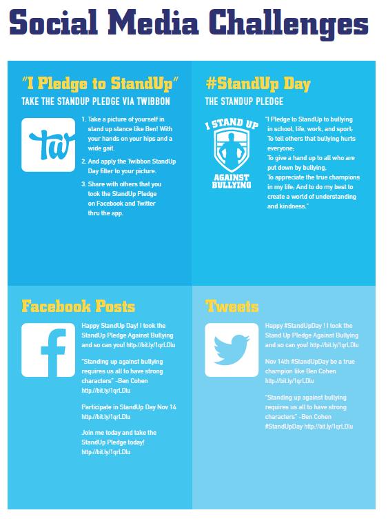 StandUp-SocialMediaChallenge