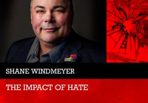Shane Windmeyer, stop the hate speaker