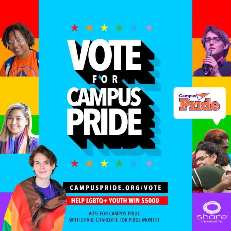 Vote For Campus Pride