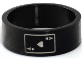 ace black ring