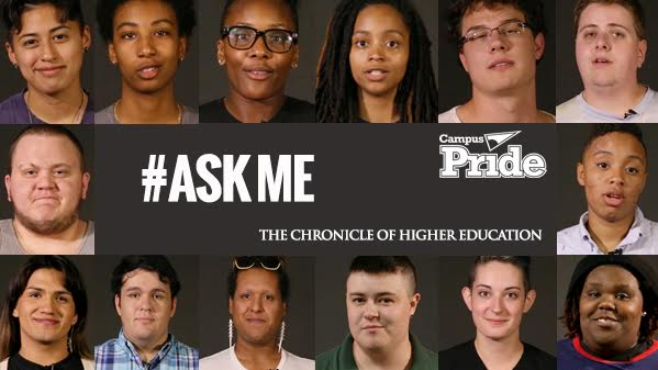 #AskMe Campaign Highlights Campus Pride LGBTQ Student Voices