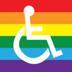 disability queer rainbow lgbtq wheelchair accessibility