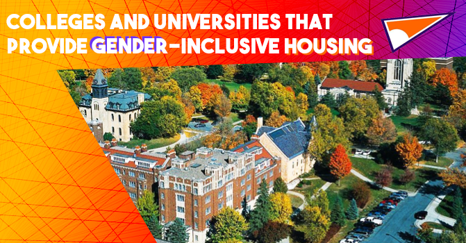 colleges and universities that provide gender inclusive housing