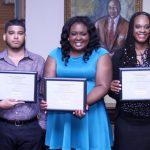 Virginia State University Lavender Graduation