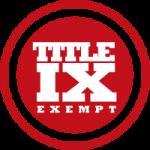 Shame List Title IX Exempt